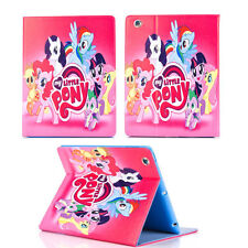 IPAD MINI 1/2/3 CASE COVER PINK MY LITTLE PONY FRIENDS GIRLS CARTOON UK SELLER