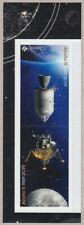 APOLLO 11 MOON LANDING 50th = Tête-Bêche Pair from FRONT BK page Canada 2019 MNH