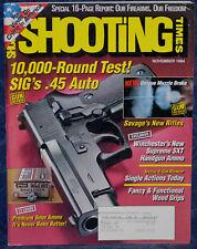 Magazine SHOOTING TIMES November 1994 SAVAGE Models 112BT, 116FCSAK, 116SE RIFLE