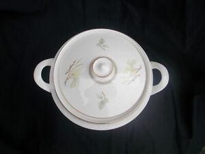 Royal Doulton WHITE NILE  Covered Vegetable Dish. Loop Handles