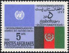 Afghanistan 1965 UN Day/Flags/Politics/United Nations/Government 1v (n33178)