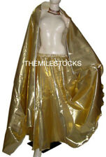 TMS GOLDEN Tissue Skirt Veil BellyDance Tribal Costume Dress ORIENTALE JUPE ROBE