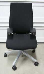 Steelcase Gesture Licorice Connect Chair *OPEN BOX*