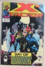MARVEL COMICS X Factor #70 SEPT 1991 DAY OF DECISION! THE MUIR ISLAND EPILOGUE
