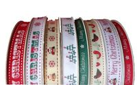 Bertie's Bows Christmas Ribbon on 3m Rolls