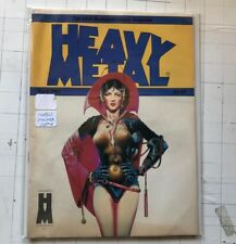 Heavy Metal Abril 1983 Stathis Kaluta Workman Crepax Bilal Moebius Revistas