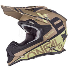 SALE ONEAL RL SPYDE GOLD/SAND HELMET ATV QUAD BIKE ADULT MX ENDURO SIZE SMALL