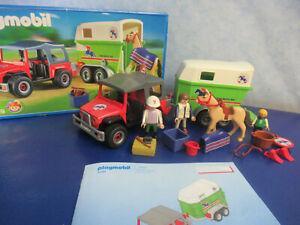 4189 Jeep Pferde Anhänger OVP zu 4190 5221 Reiterhof Playmobil 4015
