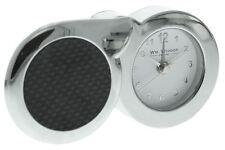 Orologi da tavolo in argento a batteria 12 ore