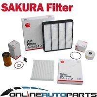 Air, Oil & Fuel Filter Kit suits Landcruiser VDJ200 V8 4.5L 1VD-FTV 2007-2015