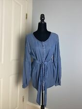 Women's Large Gap Denium Blouse