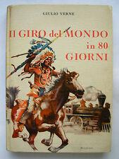 VERNE IL GIRO DEL MONDO IN 80 GIORNI VALLARDI 1955
