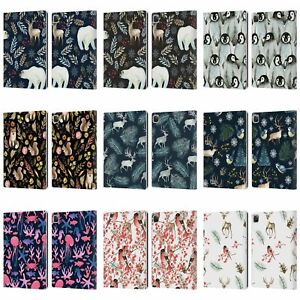 OFFICIAL JULIA BADEEVA ANIMAL PATTERNS 4 LEATHER BOOK CASE FOR APPLE iPAD