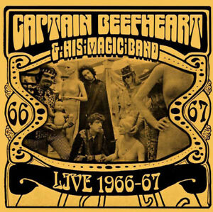Captain Beefheart & His Magic Band – Live 1966-67 (2014)  CD  NEW  SPEEDYPOST