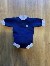 Splash About Baby Wetsuit Blue Swimming All In One Size Small 0-4 Months