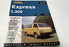 1980 - 1986  MITSUBISHI L300 EXPRESS  Workshop  Manual