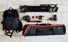 Canon EOS 5D Mark III Lotto con treppiede Manfrotto e Accessori
