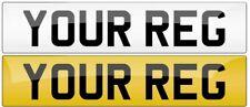 Pair Premium MOT Road Legal Car Van Reg Registration Number Plates Free Shipping