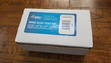 BSG ACID TEST KIT FOR WINE MAKING ~ HOME BREWING & MOST OTHER LIQUIDS