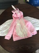 H3) HaLLoWeeN Dress-up Hooded Coat Costume Unicorn Toddler 2-3T?