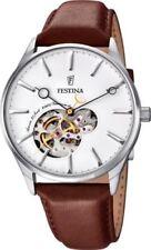 Braune mechanisch - (automatische) Armbanduhren mit Chronograph