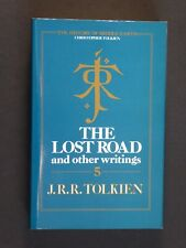J R R Tolkien The Lost Road 1987 First Edition