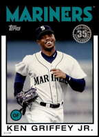 Ken Griffey Jr. 2021 Topps 5x7 1986 Baseball 35th Anniversary #86B-60 15/49