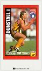 1995 AFL Coca Cola Classics Trading Card No10 Jason Dunstall (Hawthorn)