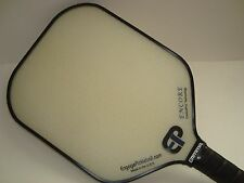 SUPER NEW ENGAGE  ENCORE PICKLEBALL PADDLE ENHANCED CONTROL SPIN ALL WHITE
