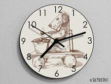 Vintage Toy Wall Clock - Kids Nursery Room,Teens Room - Wall Clock