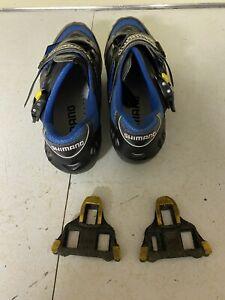 Shimano SPD-SH-R125 Carbon Road Cycling Shoes Men's 10.5