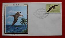 "Clearance - Marshall Islands (C13) 1987 Sea Birds Colorano ""Silk"" FDC"