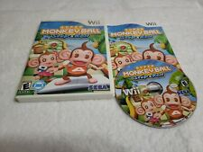 Super Monkey Ball: Step & Roll (Nintendo Wii, 2010) *Complete*Tested*Free Ship*