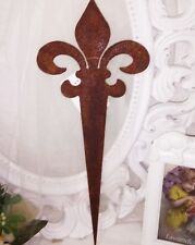 Piquet LIS Décoratif rouille Noble métal décoration de jardin maison campagne