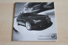 97687) Alfa Romeo 156 SW - Preise & tech. Daten & Ausstattungen - Prospekt 02/20