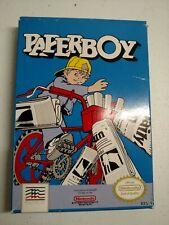 Paperboy Game Nintendo NES w/ Original Box & Instruction Manual