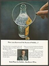 SCHWEPPES Tonic Water - 1971 Vintage Soda Print Ad