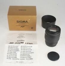 Sigma 4,0-5,6/70-210mm UC Zoom Objektiv #1001407