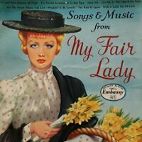 """Embassy Singers-Songs & Music From My Fair Lady 7"""" EP Single.1958 WEP 1005."""