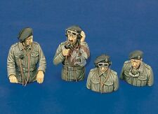 Royal Model 1/35 British Tank Crew WWII (4 Half-figures) [Resin with PE] 231