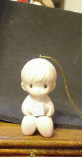 Precious Moments &Jonathan & David Boy figurine 1982 Ornament