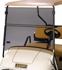 EZGO Golf Cart Tinted Fold Down Windshield TXT & Medalist 1994.5-2013