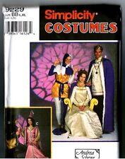 Simplicity 9229 Medieval Royal Designer Schewe Costume Dress Uncut PATTERN L XL