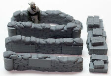 1/35 Sandbag Walls (Check Point) - Value Gear Details DP006