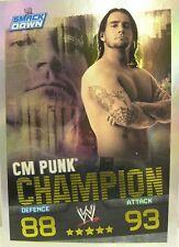 Slam Attax Evolution #008 CM Punk Champion