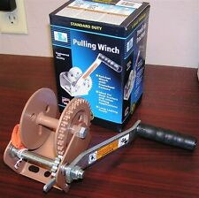 Dutton Lainson Dl600A Ratcheting Trailer Winch For Marine, Boat Or Trailer Usa