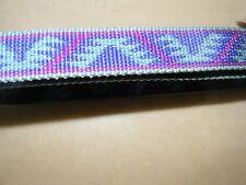 "New PREMIER Kaleidoscope Brazilia 1"" quick snap collar XL turquoise purple 22-34"