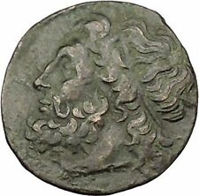 Syracuse Sicily 270BC King Hieron II  Ancient Greek Coin Poseidon Trident i39152
