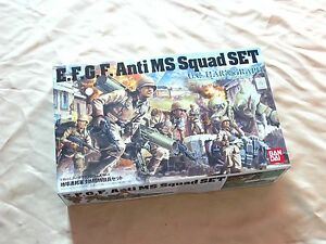Bandai 1/35 UCHG 004 E.F.G.F Anti MS Squad Set
