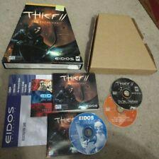Thief II The Metal Age (2000) Eidos Trapezoid Big Box PC COMPLETE!